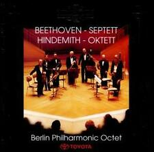 BEETHOVEN/Septuor/Hindemith/Octet (TOYOTA) Berlin Philharmonic Octet-CD