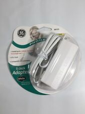 GE 5-Jack Phone Line Adapter - White - 86131, New, Free Ship