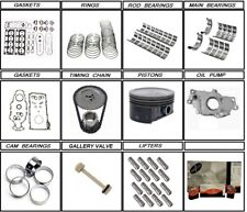 2004 - 2005 Chevrolet GM Hummer 6.0 Engine rebuild kit + lifters LQ4