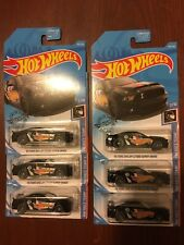 '10 Ford Shelby GT500 Super Snake #192 BLACK Lot Of 6 2019 Hot Wheels Mustang