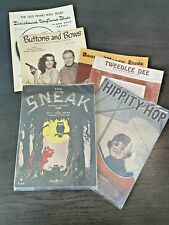Vintage Sheet Music Lot of Early 1900's and On Great Graphics! Ragtime Fox Trot