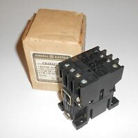New Old Stock General Electric 24VAC Coil Industrial Relay CR4RA-22- / CR4RA22EH