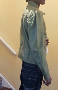 Spring Summer Short Jacket Casual Wear Collarless Mans Jacket Sizes S & XL