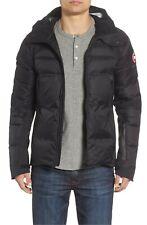 Canada Goose HyBridge Sutton Parka Men's Black Down Jacket 2728M Size Small