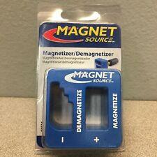 Master Magnetics 07524 2 In Ceramic Magnetizerdemagnetizer 34 Mgoe Blue 1 Pc