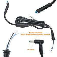 Connettore Spinotto Cavo Filo Alimentatore HP 4,5*3,0 VER. 12MM SERIE HP ENVY 15