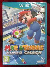 MARIO TENNIS ULTRA SMASH Nintendo Wii U WIIU  PAL VF FRANCAIS ++ 100% NEUF Jeu