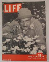 1942 Ace Guerrilla US Army Life Magazine Vintage WWll VTG 1940's