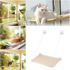 Cat Puppy Window Mounted Basking Bed Pet Shelf Kitten Perch Seat High Hammock