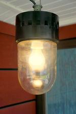 Lampe Leuchte Glaskolbenlampe Kellerlampe Industriedesign Loft Bauhaus