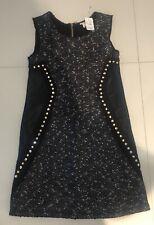 $114 NWT HANNAH BANANA GIRLS DRESS W/ STUDS/ RHINESTONES SZ 10