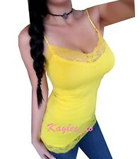 Very Sexy Women's Low-cut Camisole Basic Spaghetti Strap Tank Top Shirt Blouse