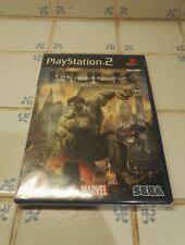 The Incredible Hulk For Sony PlayStation 2 PS2 New And Sealed!