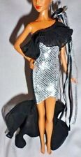 DRESS ONLY ~ EVENING C ~BARBIE DOLL MODEL MUSE STEPHEN BURROWS NISHA SEQUIN GOWN