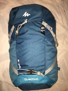 Quechua Forclaz 30 Air Blue Backpack Air Cooling System Ladies