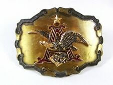 1977-81 Anheiser Busch Eagle Beer Belt Buckle By RAINTREE Made In USA 52316