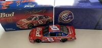 DALE EARNHARDT JR #8 BUD US OLYMPIC ROOKIE STRIPES 1/24 ACTION 2000 DIECAST