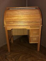 American Girl Kit Roll Top Desk No Chair EUC RETIRED