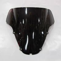 Windshield Black Screen Double bubble For Honda CBR 900RR CBR 929RR 2000-2001