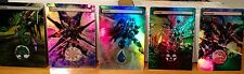 5 FOIL MTG ALTERED ART LANDS GUNDAM ROBOTECH MECKS BONUS COMMANDER EDH CUBE
