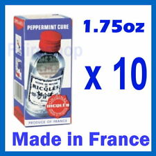 Ricqles Peppermint Cure Medicated Oil Stop Digestion Stomach Pain Headaches x10