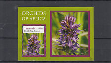 Tanzanie 2014 neuf sans charnière Orchidées de l'Afrique 1v s / s fleurs flore Dactylorhiza dinglensis
