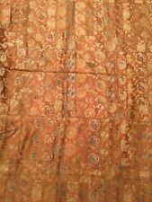 ANTIQUE 19th c JAPANESE MEIJI BROCADE SILK KESA EMBROIDERED CHINESE ROBE 43a789e97