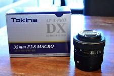 Tokina AT-X PRO M35 35mm f/2.8 DX MF AF Lens For Canon