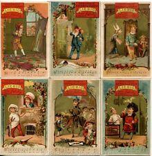 Chromo Liebig Sang. 68 FRA Canzoni II (con musica) ANNO 1878/83