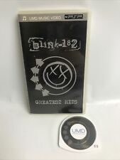 blink-182 Greatest Hits - UMD Music Video (Sony PlayStation PSP) RARE!