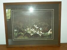 Vintage Andrew Wyeth MAY DAY Litho Print Professionally Matted & Framed