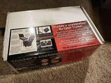 CyberTrucker Truckers Workstation Laptop Stand Black Powder Coated Heavy Duty