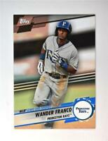 2019 Topps Pro Debut Leaps and Bounds Black #LB-WF Wander Franco 1/1