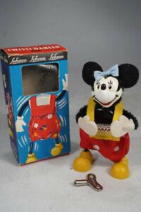 vintage Schuco 941 Minnie Maus Twisty Dancer in originaler Box - Wind Up Toy
