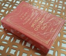 Misc Goods Co Playing Cards Red Limited Edition New & Sealed USPCC Deck