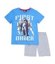 Star Wars Shorty Pyjamas Short Blue Grey 128