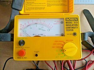 Robin 3131 Insulation Continuty  Voltage Tester