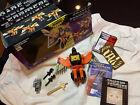 G1 Transformers Predaking Divebomb Complete MIB Decepticon Hasbro All Paperwork For Sale