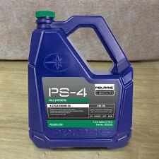 Polaris PS-4 Full Synthetic 5W-50 All-Season Engine Oil 4-Stroke Engines 2876245