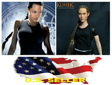 KUMIK 13-54 Angelina Jolie Lara Croft 1/6 Head Sculpt for Hot Toys #US SELLER#