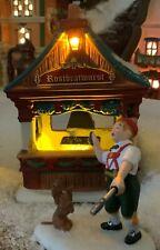 Dept 56 Alpine Village Christmas Market Bratwurst Booth, Set of 2, #4059378