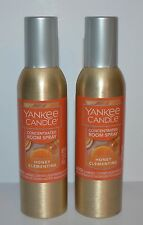 LOT OF 2 YANKEE CANDLE HONEY CLEMENTINE CONCENTRATED ROOM SPRAY AIR FRESHENER