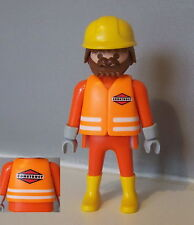 PLAYMOBIL (Q204) CHANTIER - Ouvrier Construct Superset Travaux 3126