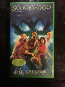 SCOOBY-DOO VHS BRAND NEW ULTRA RARE LIVE ACTION MOVIE FREDDIE PRINZE JR.