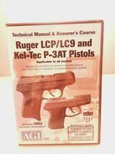 Ruger Lcp Lc9 Kel Tec P-3At Gunsmithing Armorer Dvd Agi Video Gunsmith Technical