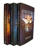 Angelfall Trilogy Susan EE 3 Books World After End of Days Penryn Fantasy New
