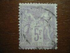 Frankreich Mi.-Nr. 76, 5 Fr. gest.