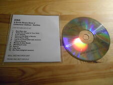 CD Jazz ESG - A South Bronx Story 2 (12 Song) Promo SOUL JAZZ