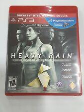 Heavy Rain Director's Cut (Sony Playstation 3)