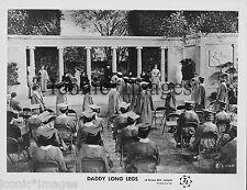 ORIG. 1955 MOVIE STILL-DADDY LONG LEGS-GRADUATION CEREMONY-HIGH SCHOOL DIPLOMAS